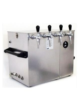 Tireuse refroidissement à eau débit 90L/h 2 becs