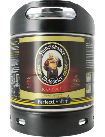 Franziskaner Royal Weissbier 6 Litre PerfectDraft Keg