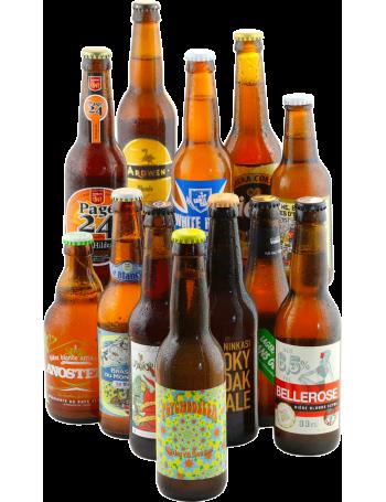 """Assortiment """" French touch, 12 bières françaises"""""""