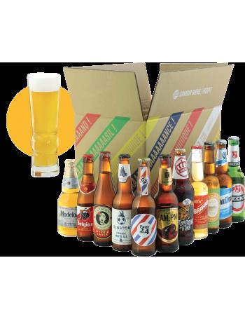 World Pack - 11 bières et 1 verre