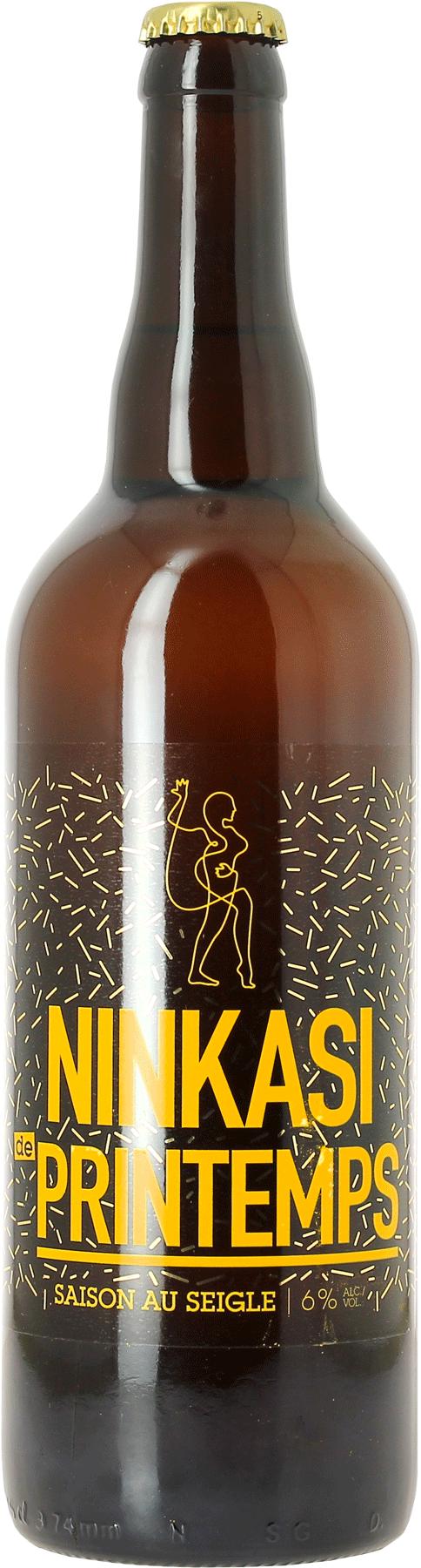 Ninkasi Bière de Printemps 75 cl