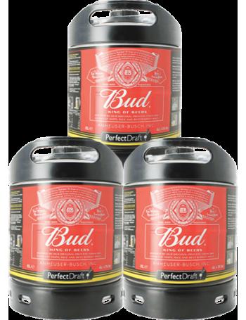 Pack 3 fûts 6L Bud