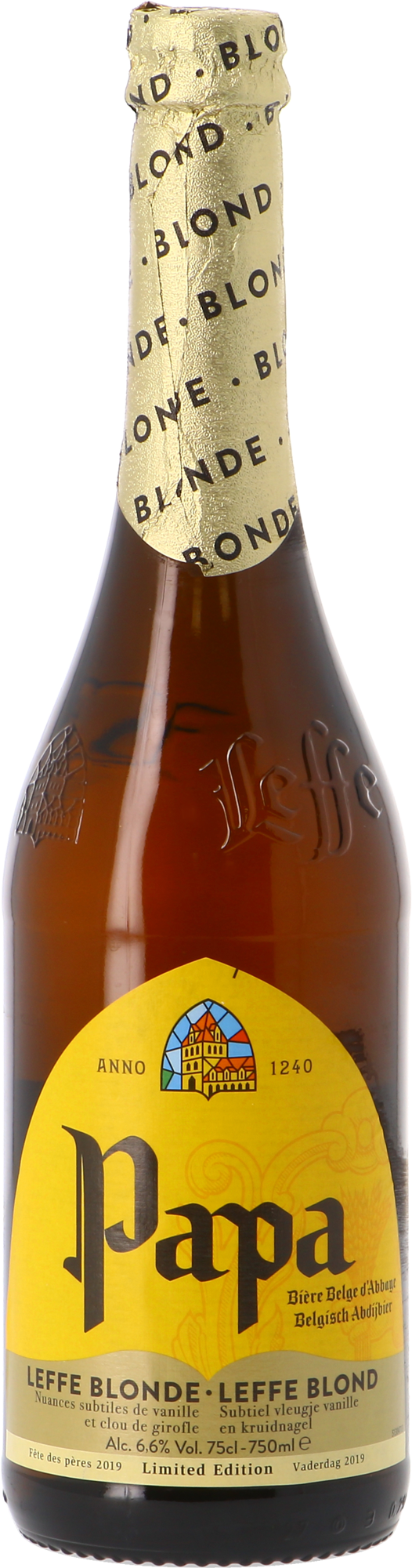 Leffe Blond Papa - Limited Edition 75cl