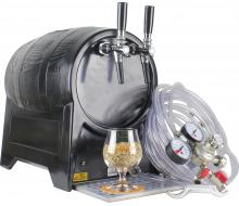 Tireuse à bière débit 40L/h froid sec 2 robinets