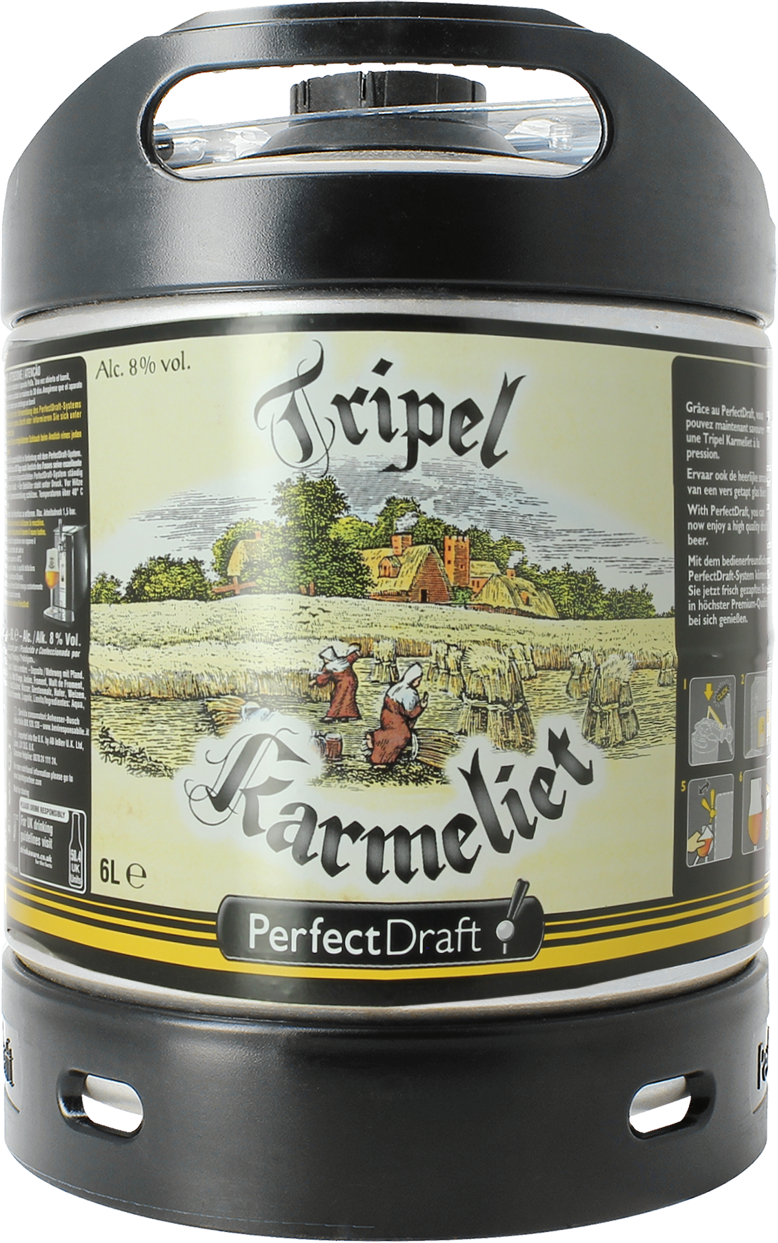 Barril Tripel Karmeliet PerfectDraft 6 L