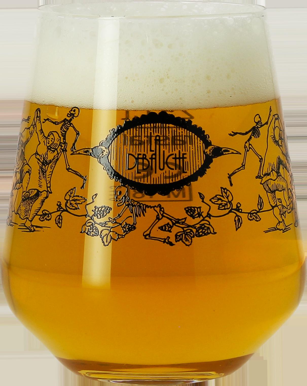 La Débauche vaso cerveza - 25 cl