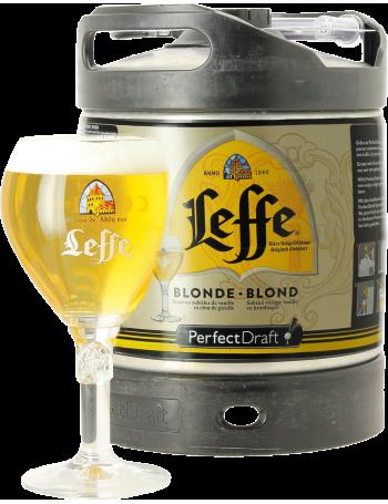 Fût 6L Leffe + 1 verre de 33 cl