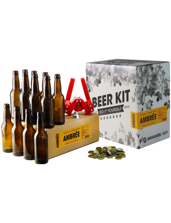 Brew Your Own Beer Kit - Abbaye Ambrée + Refill and Bottling Pack