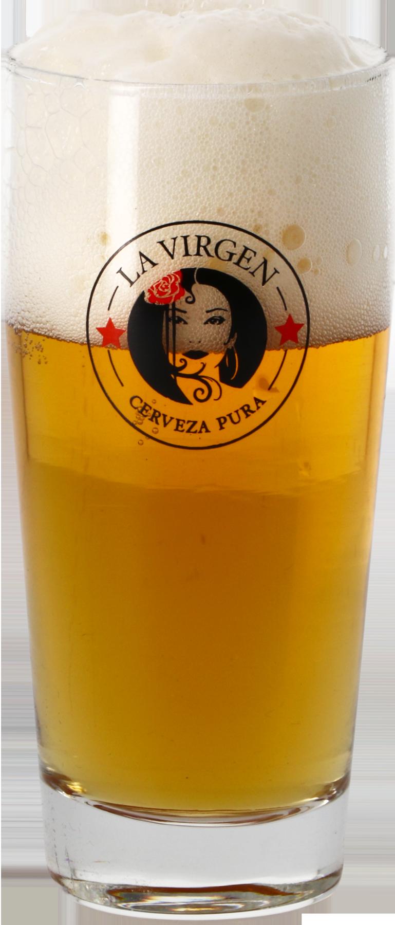 La virgen vaso de cerveza - 25 cl