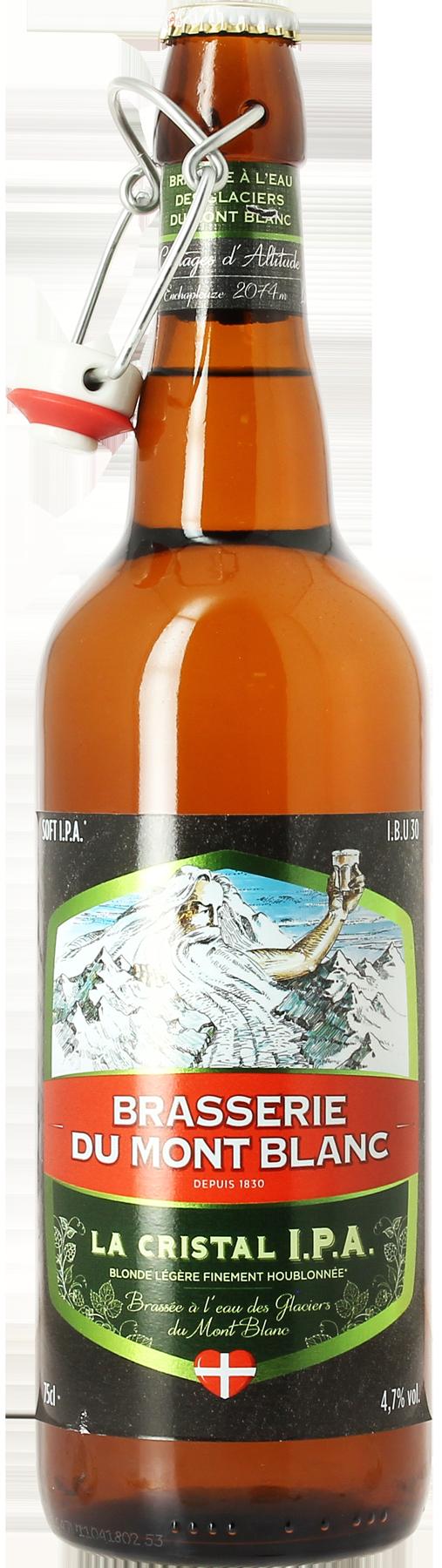 Mont Blanc Cristal IPA - 75cl