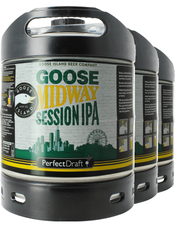 Pack 3 fûts 6L Goose Midway Session IPA