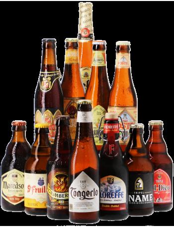 Assortiment Bières d'Abbaye