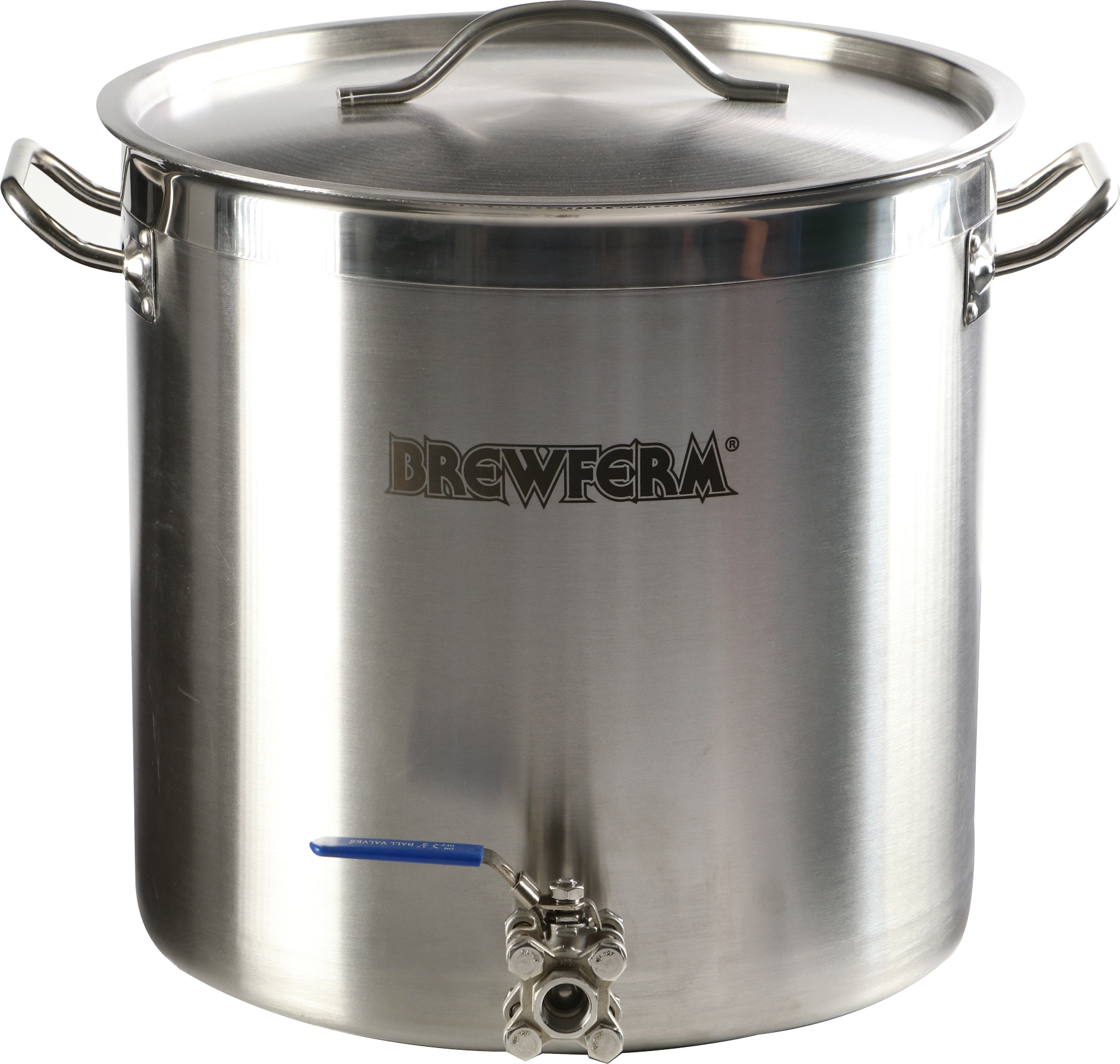 Brewferm homebrew kettle 35L with ball valve