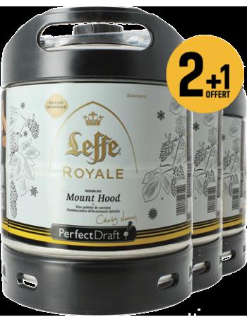 Pack 3 fûts 6L Leffe Royale Mount Hood