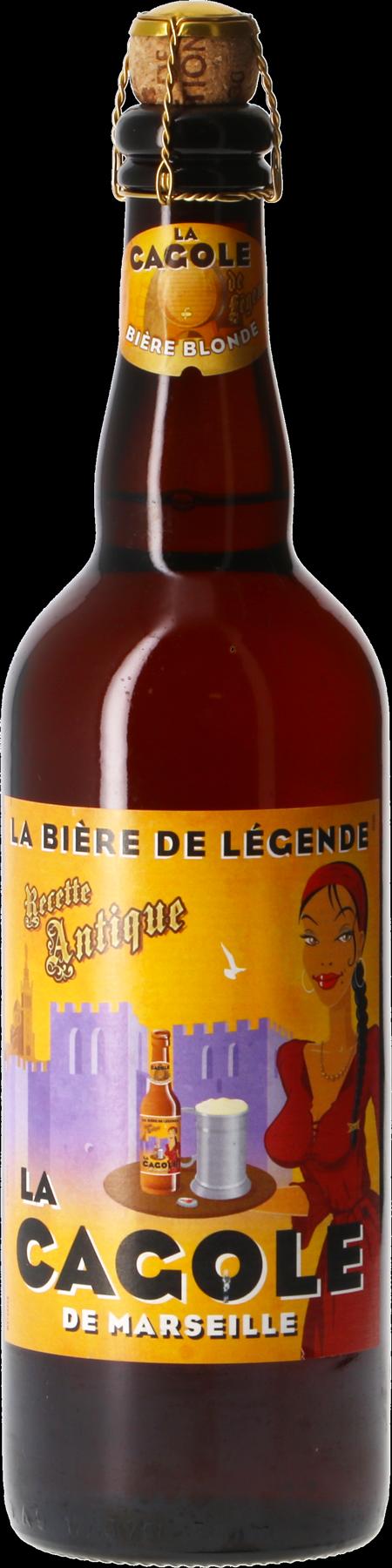 La Cagole Bière de Légende - 75 cl