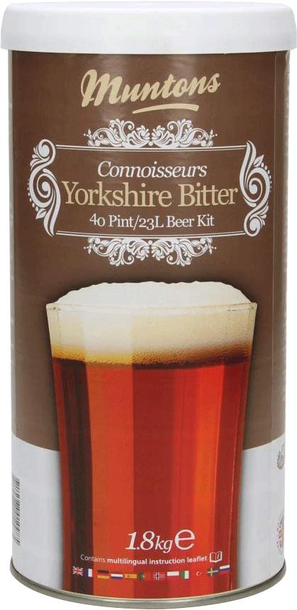 Kit à bière Muntons Connoisseurs Yorkshire Bitter 1,8 kg