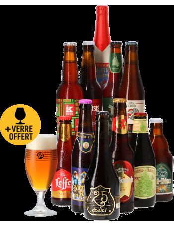 Coffret bières de Noël