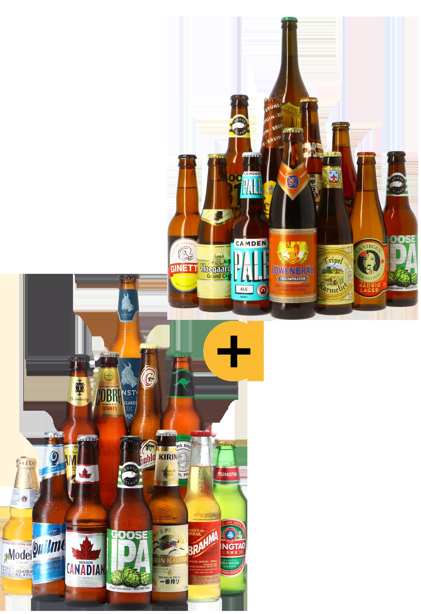 Pack Assortiments Les Meilleures Ventes + Bières du Monde