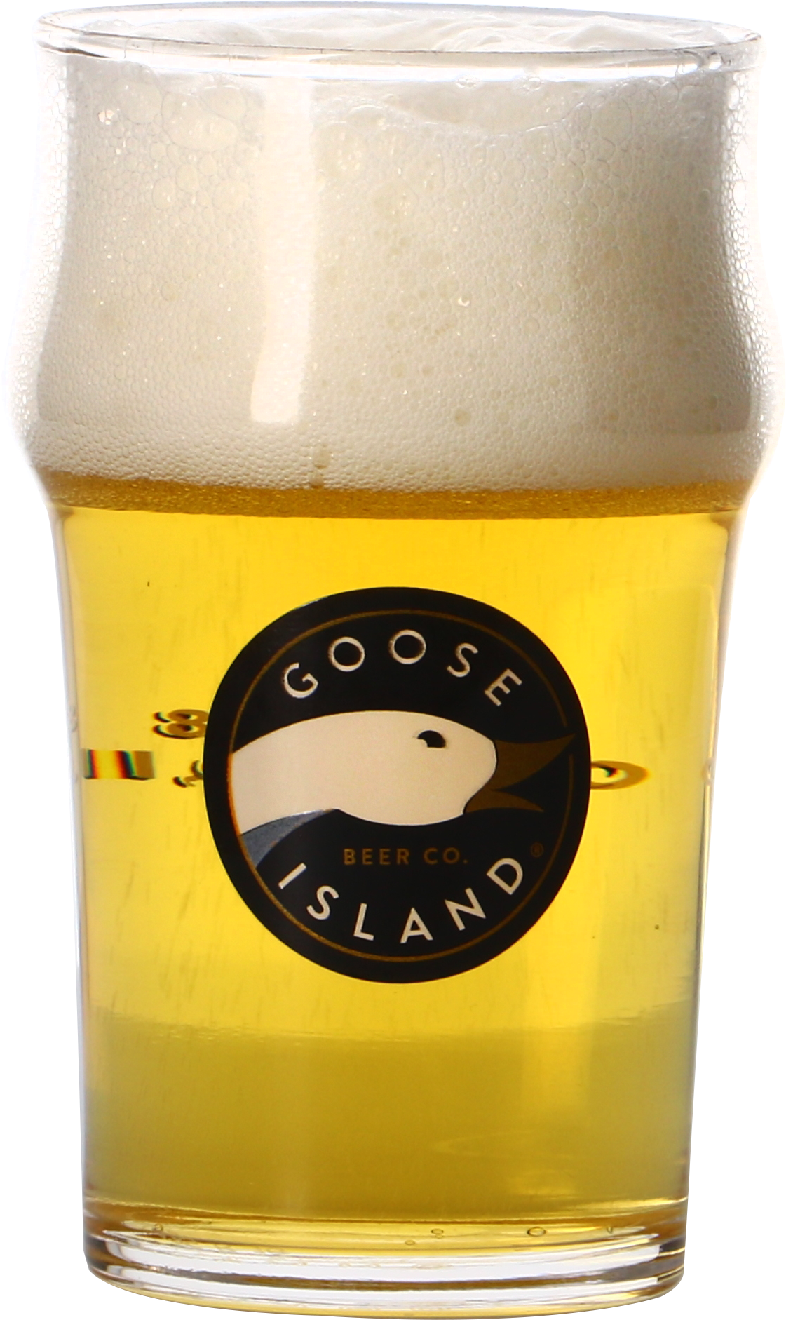 Verre plat Goose Island