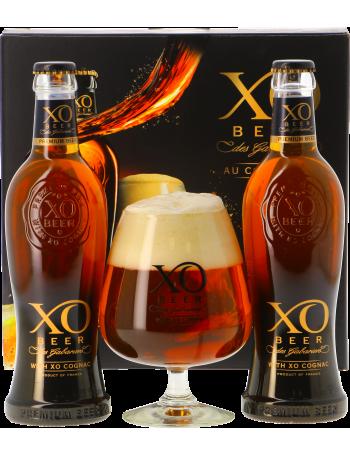 Coffret Xo Beer - 2 bières + 1 verre 33 cl
