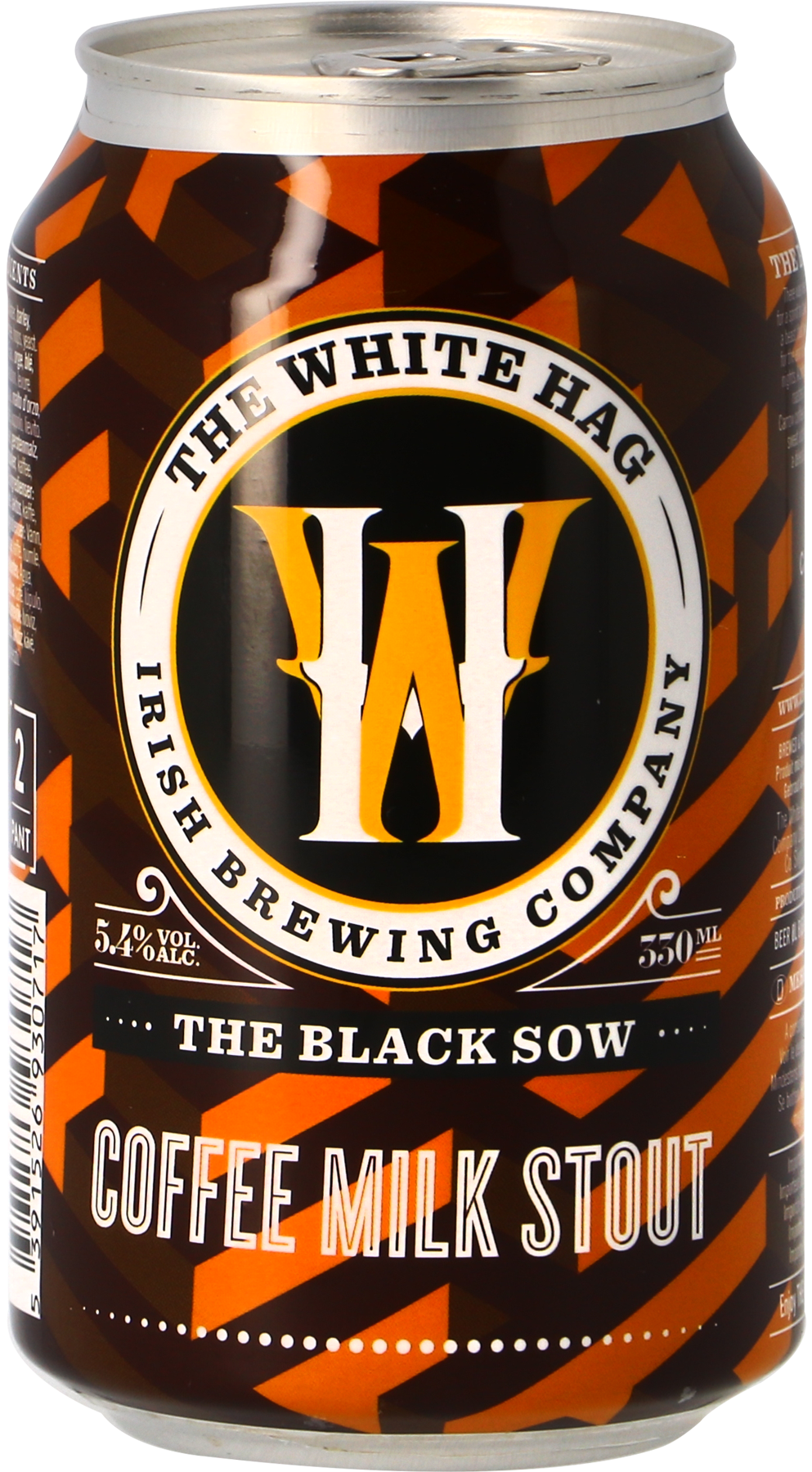 The White Hag Black Sow Nitro Stout - Lata