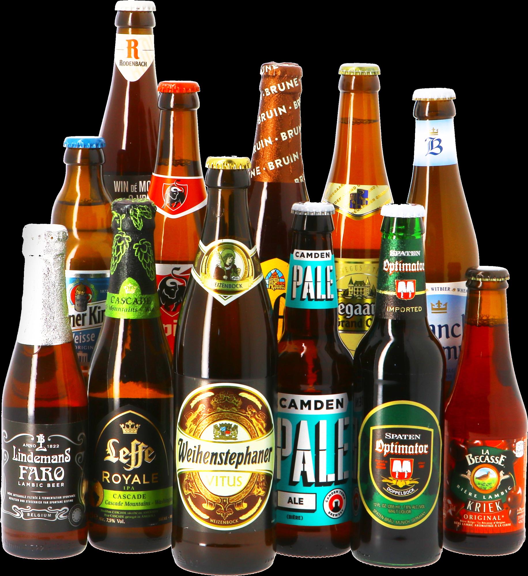 Pack 12 cervezas: 12 estilos