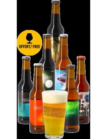 Pack Põhjala (7 bières + 1 verre)