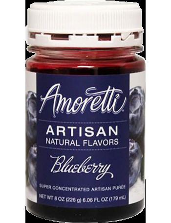 Amoretti - Artisan Natural Flavors - Myrtille 226 g
