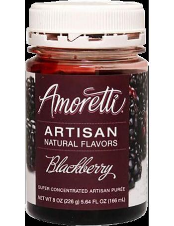 Amoretti - Artisan Natural Flavors - Mûre 226 g
