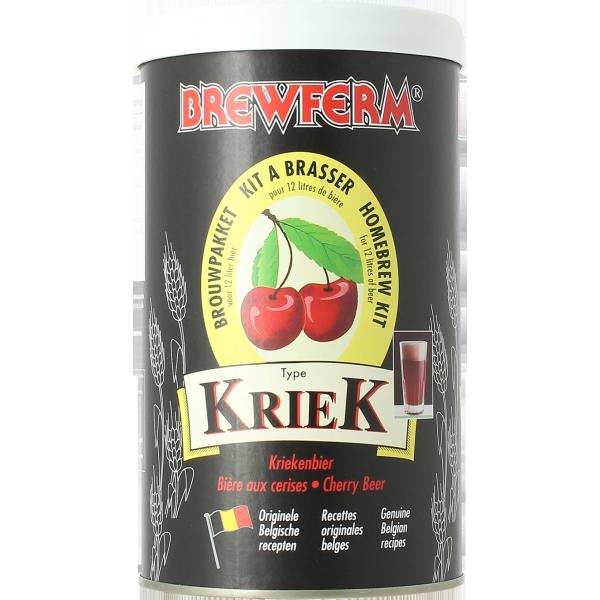 brewferm kriek cherry beer kit homebrewing for beer lovers. Black Bedroom Furniture Sets. Home Design Ideas