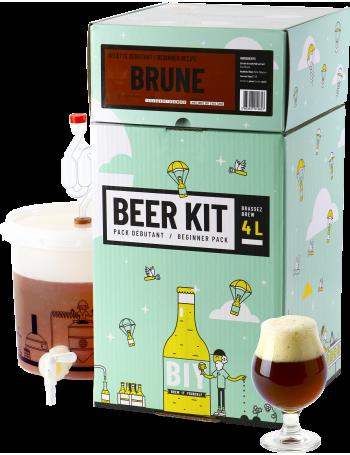 Beer Kit Débutant, je brasse une bière brune