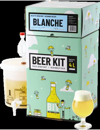 Beer Kit Débutant, je brasse une bière blanche