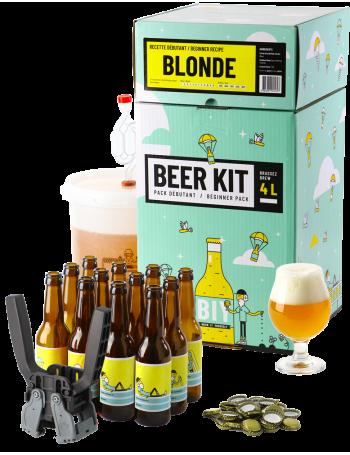 Beer Kit Débutant, je brasse et j'embouteille une bière Blonde