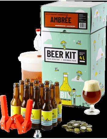 Beer Kit Débutant, je brasse et j'embouteille une bière ambrée