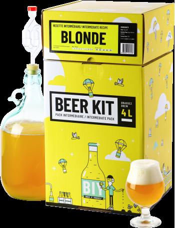 Beer Kit Intermédiaire, je brasse une bière blonde