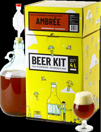 Beer Kit Intermédiaire, je brasse une bière ambrée