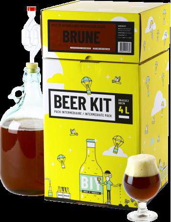Beer Kit Intermédiaire, je brasse une bière brune