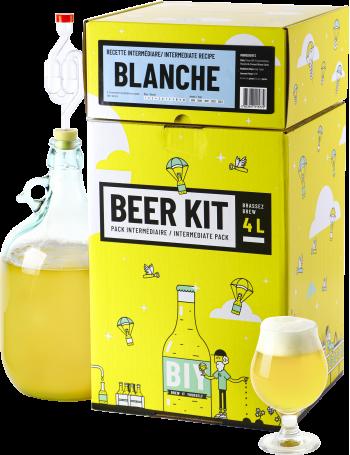 Beer Kit Intermédiaire, je brasse une bière Blanche