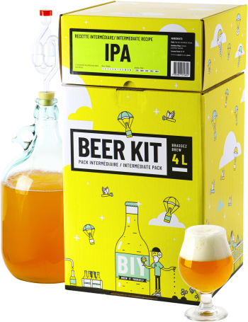Beer Kit Intermédiaire, je brasse une bière IPA