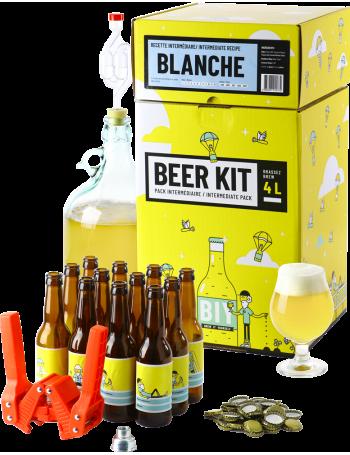 Beer Kit Intermédiaire, je brasse et j'embouteille une bière blanche