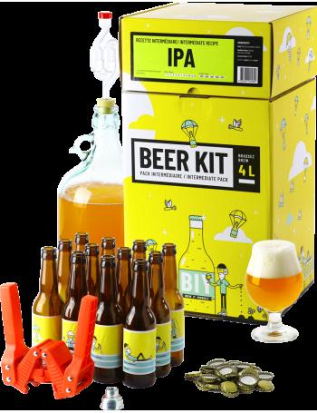 Beer Kit Intermédiaire, je brasse et j'embouteille une bière IPA