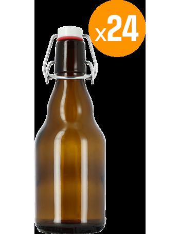 24 bouteilles 33 cl + 24 Bouchons mécaniques avec joint