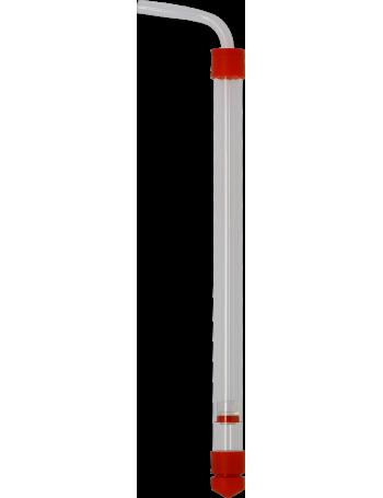 Auto-siphon Fermonter's Favorites Rouge  - mini format  35 cm