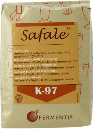 Levure sèche Safale K-97 500g