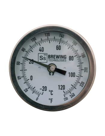 Thermometer | Threaded for Brew Kettle w/ Bulkhead - Ss Brewtech