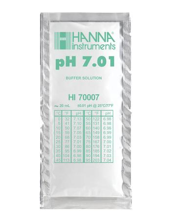 Solution tampon pH 7,01 - sachet de 20 mL