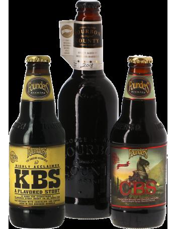 Pack 3 bières Barrel Aged