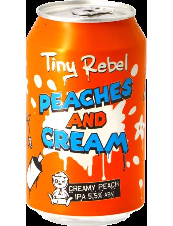 Tiny Rebel Peaches & Cream IPA