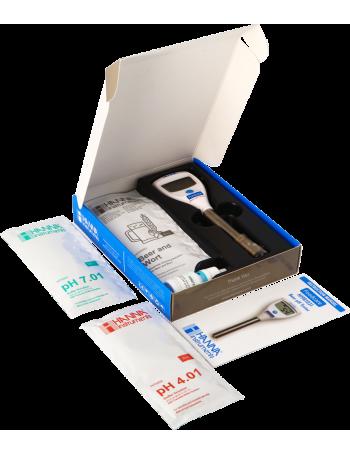 Kit HI981031 Testeur de pH avec électrode spéciale bière