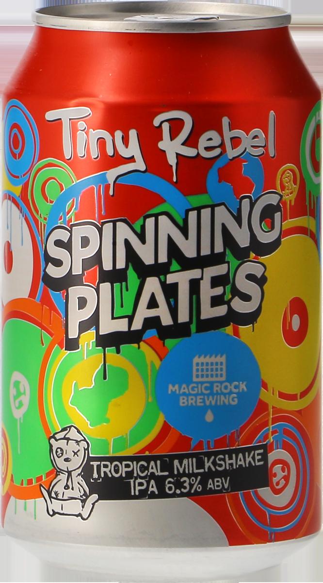 Tiny Rebel / Magic Rock Spinning Plates